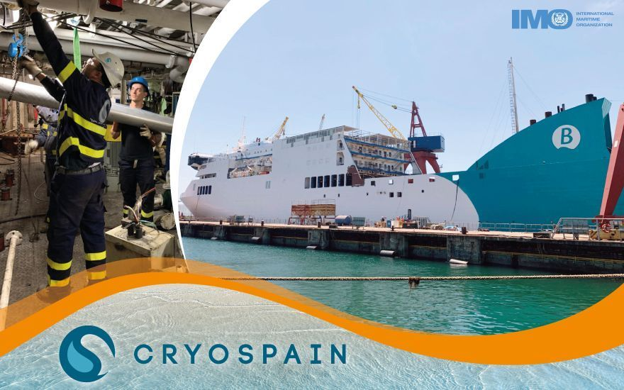 Update: Cryospain's 5th LNG Ship project steams ahead!
