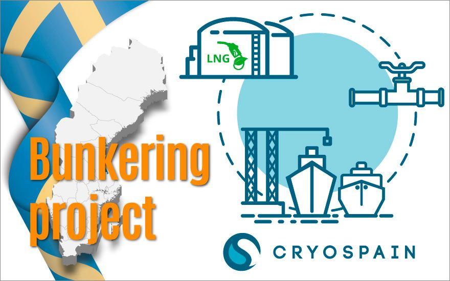 Cryospain wins large-scale LNG bunkering project in Sweden!