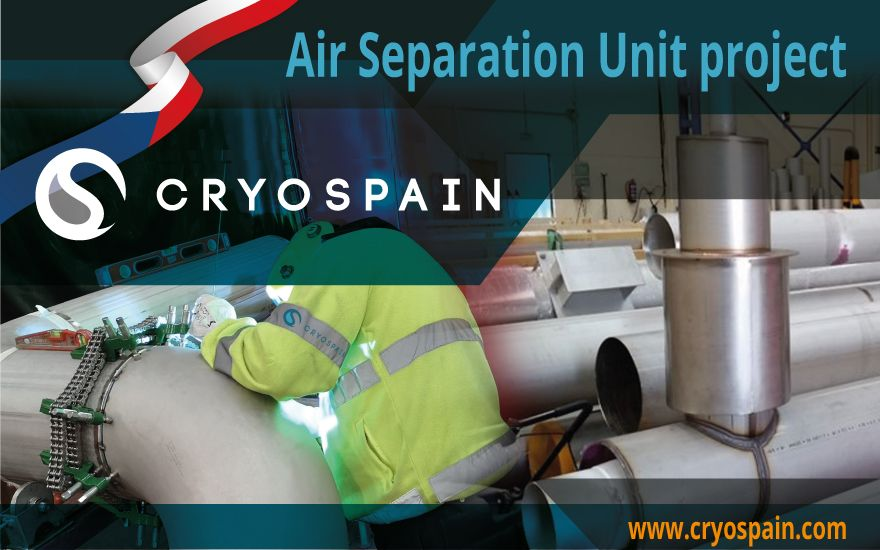 Air Separation Unit project: Cryospain hard at work in Czechia!